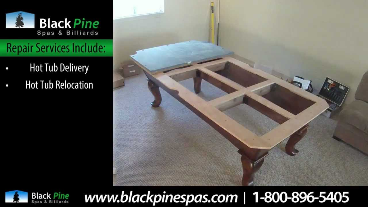 Hot Tub Pool Table Repair Services Near Seattle Black Pine - Pool table repair service near me