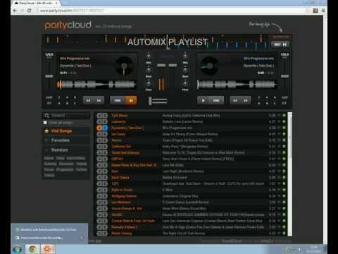 Escuchar y mezclar música gratis en internet (sin programas).
