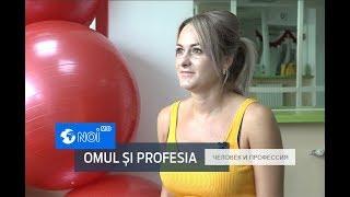 Omul și profesia –   antrenor fitness cu Carolina  Roșca-Strateciuc