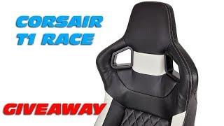 CORSAIR T1 Race Gaming Stuhl Giveaway