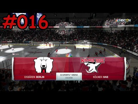 NHL 18 Season Mode (DEL) #016 [Deutsch/German]  - Eisbären Berlin