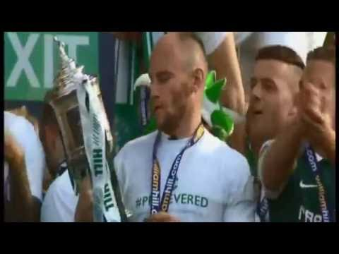 Glory Glory To The Hibees - Sky Sports Scottish Cup Final May 21st 2016