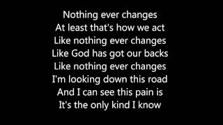 SOJA - Everything changes (true lyrics)