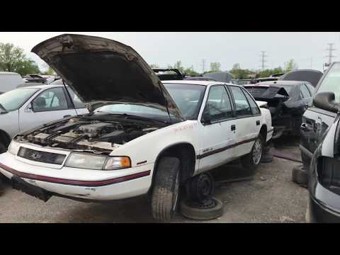 Early 90's Chevy Lumina Euro Sport At The Junk Yard
