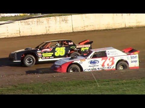 Street Stock B-Main   Eriez Speedway   9-23-18