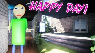 Baixar IT'S DAY TIME NOW?! | BALDI REMASTERED ( Baldis UNREAL basics) New HAPPIEST DAY update