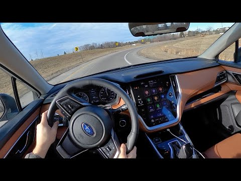 2020 Subaru Legacy Touring XT - POV Review