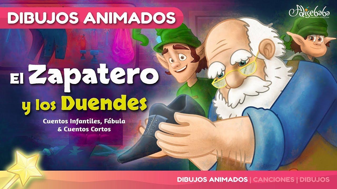 El Zapatero Y Los Duendes Cuentos Infantiles En Español Youtube