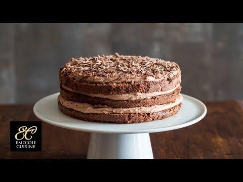 シンプルなチョコレートケーキの作り方 |  ASMR Cooking sounds - YouTube
