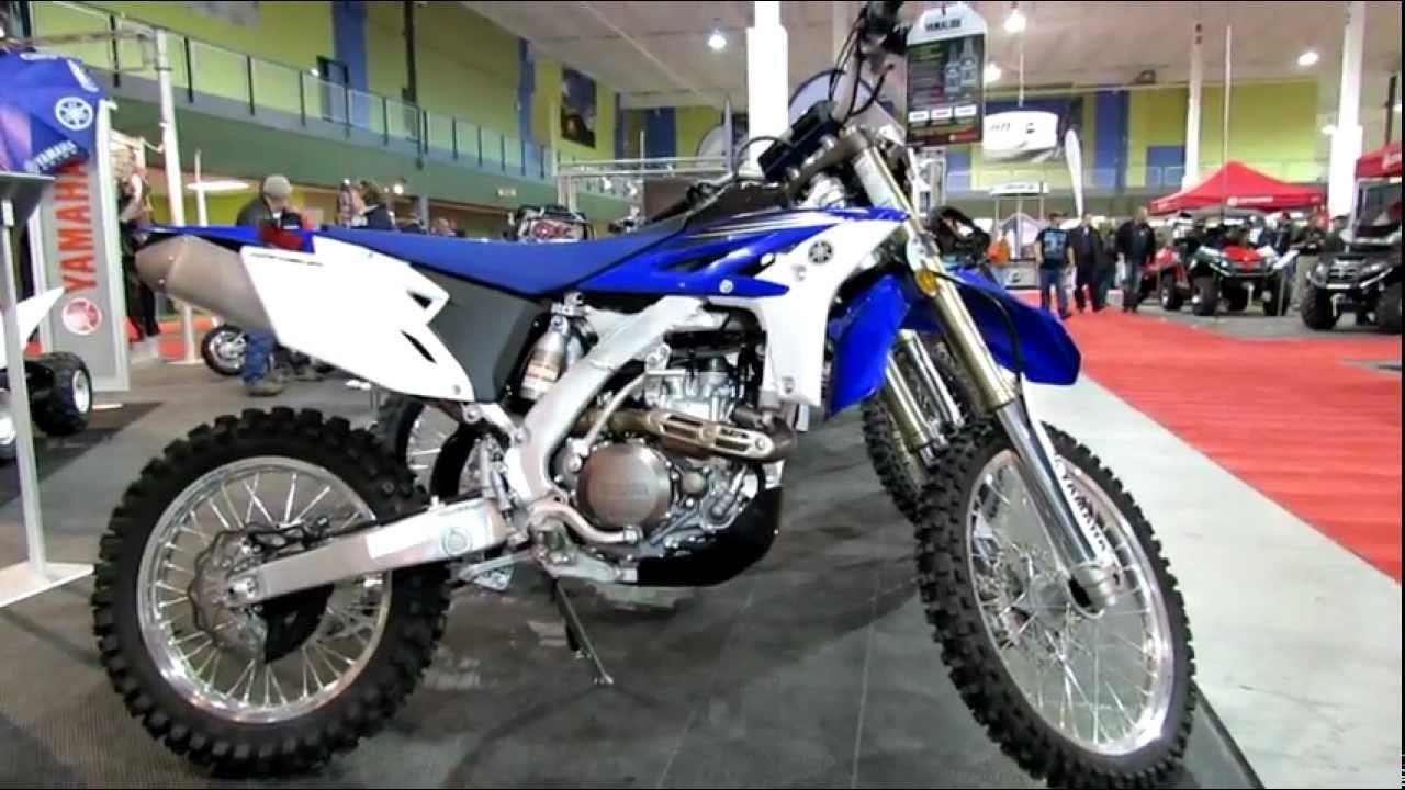 2013 yamaha wr450f dual purpose bike 2012 salon national for Yamaha dual sports