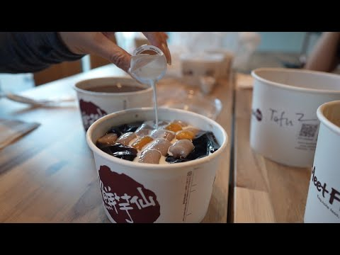 We Go To Meet Fresh Taiwanese Desserts!