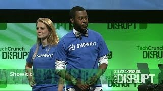 Showkit at the Startup Battlefield Finals | Disrupt NY 2014