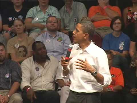 Obama talk about CGI