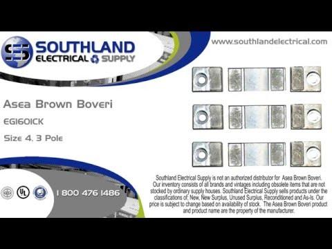 ABB, Asea Brown Boveri, EG1601CK, Nema Size 4, 3 Pole, Contact Kit