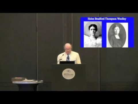 The Significance of Ohio to the History of School Psychology: A Personal Tour - Dr. Tom Fagan