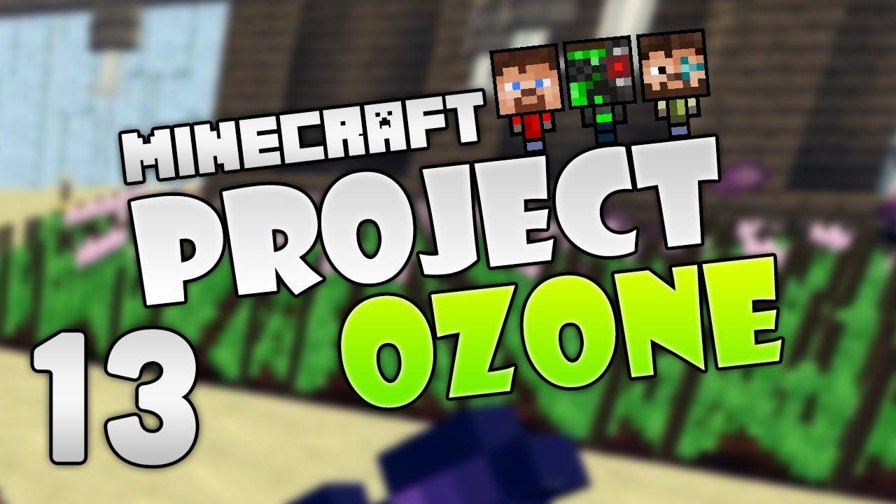 Project Ozone 2 - Minecraft HQM - 13 - Rendog's Sprinklers