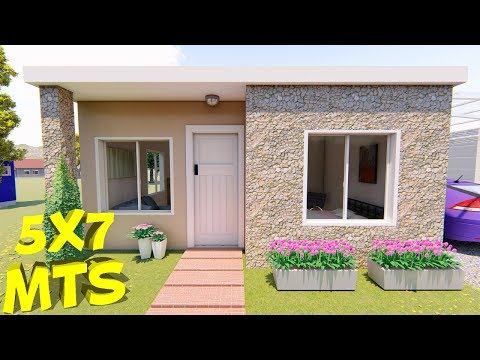 Casa De 5x7 Mts Youtube