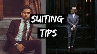 How To Look Better in a Suit | 4 Secrets to Wearing a Suit