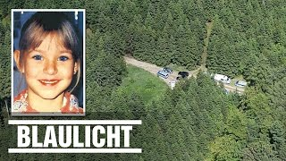 15 Jahre vermisst - Peggys Leiche gefunden - Drohnen-Flug über Fundort