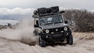 Escaping A Kalahari Dust Storm While Offroad In My Jimny (2019)