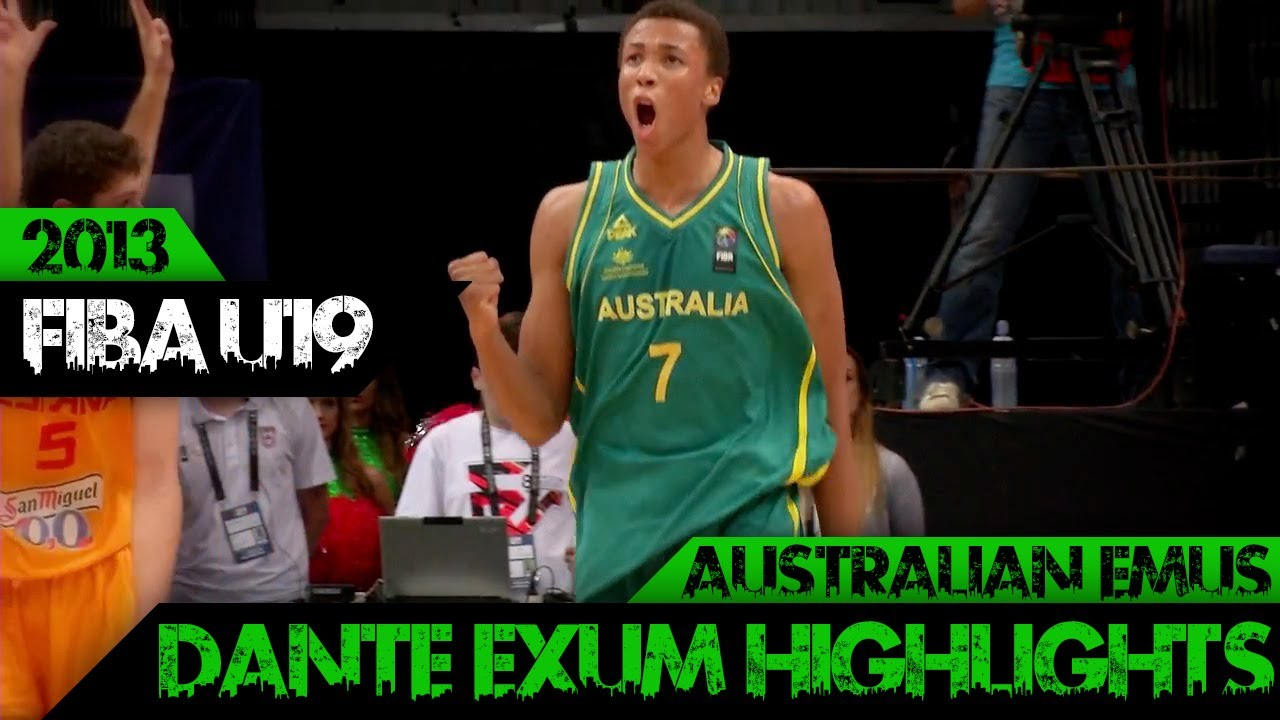Fiba U19 S World Championship Dante Exum Highlights Aus Emus