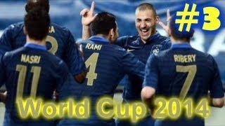 FIFA 13 Чемпионат Мира 2014 за Францию - серия 3 - 1/8 Финала