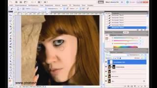 Видеоурок: Photoshop. Техника ретуши Ли Вэриса