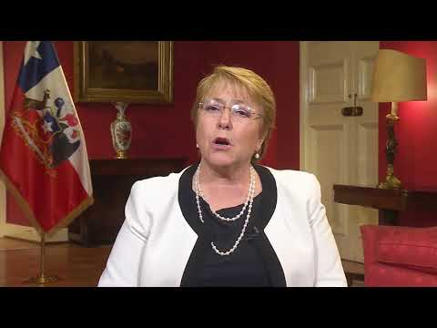 President Michelle Bachelet: InvestChile is approaching investors in the USA