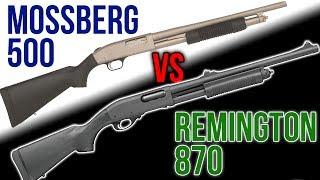 Remington 870 vs. Mossberg 500 Series
