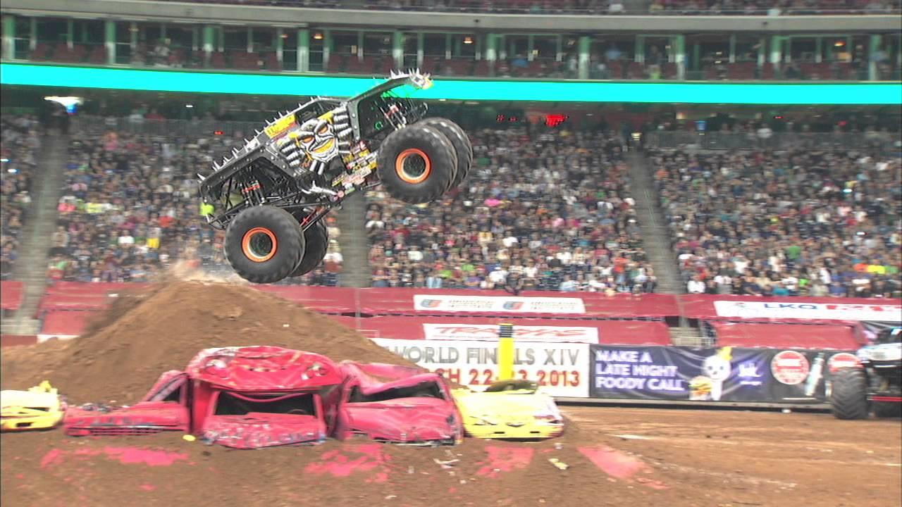 Monster Jam MaxD Monster Truck Freestyle From Houston TX - Monster car show houston tx