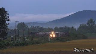 (UHD)石北本線 秋 朝の名物列車2本