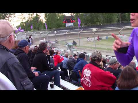 Deming Speedway WA - Micro 600R Heat Race (Carson Borden) - Friday, May 18, 2018