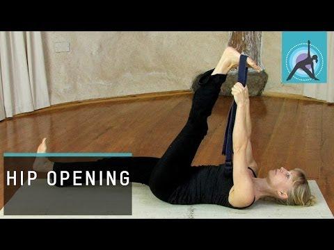 Supta Padangustasana / Reclining Big Toe Pose, Yoga