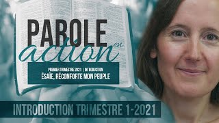 Parole en Action - Introduction 1er Triméstre |
