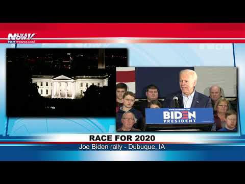 FULL BIDEN RALLY: Race for the White House in Dubuque, IA