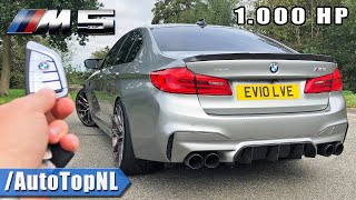 1000HP BMW M5 F90 REVIEW ON AUTOBAHN [NO SPEED LIMIT] by AutoTopNL