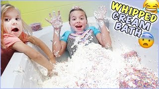 😂 WHIPPED CREAM BATH CHALLENGE! 😨 & JESSE'S DREAMS COME TRUE! 🤣