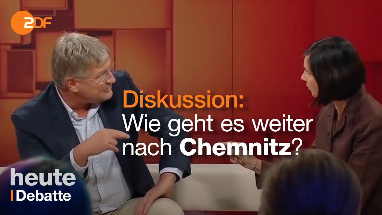 Dunja Hayali Chemnitz