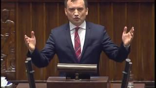 Zbigniew Ziobro UDERZA w