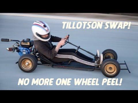 Live Axle Swap for the Turbo Go Kart! | Tillotson 212 Install