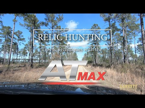 Relic Hunting Tips and Techniques with the AT Max