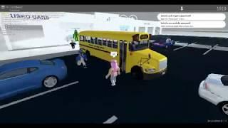 Roblox Greenville-  Ônibus escolar!!