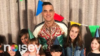 Robbie Williams Gets Interviewed By Cute Kids