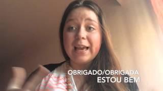 Португальский язык. Урок 1. Приветствие. Cumprimentos