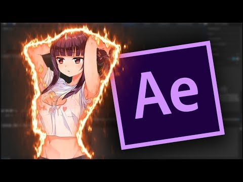 АНИМИРОВАННАЯ ОГНЕННАЯ ОБВОДКА в AFTER EFFECTS