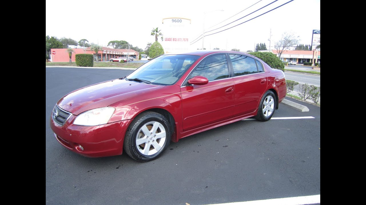 Superior SOLD 2003 Nissan Altima 2.5 SL Meticulous Motors Inc Florida For Sale