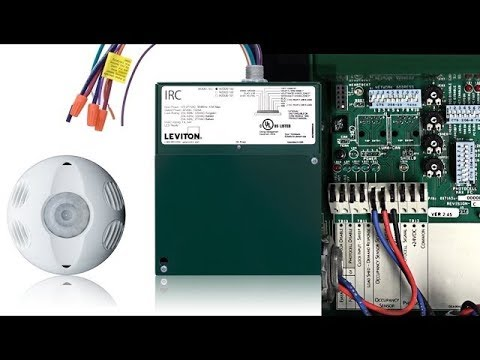 hqdefault leviton irc how to wire an occupancy sensor youtube leviton osc20 m0w wiring diagram at gsmx.co