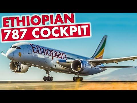 "ETHIOPIAN Boeing 787 ""Dreamliner"""