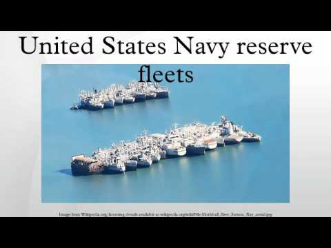 United States Navy reserve fleets