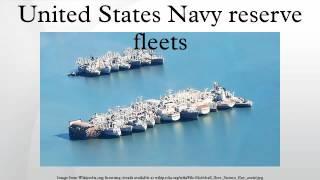 United States Navy reserve fleets